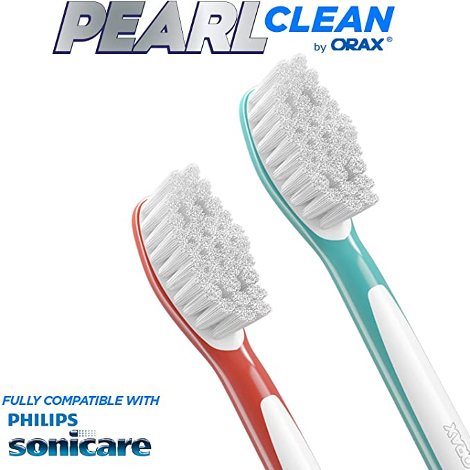 12 pcs. (3x4) Replacement Brush Heads For Kids Standart Size Compatible with Philips Sonicare Electric Toothbrush Handles. Substitute for HX6044.