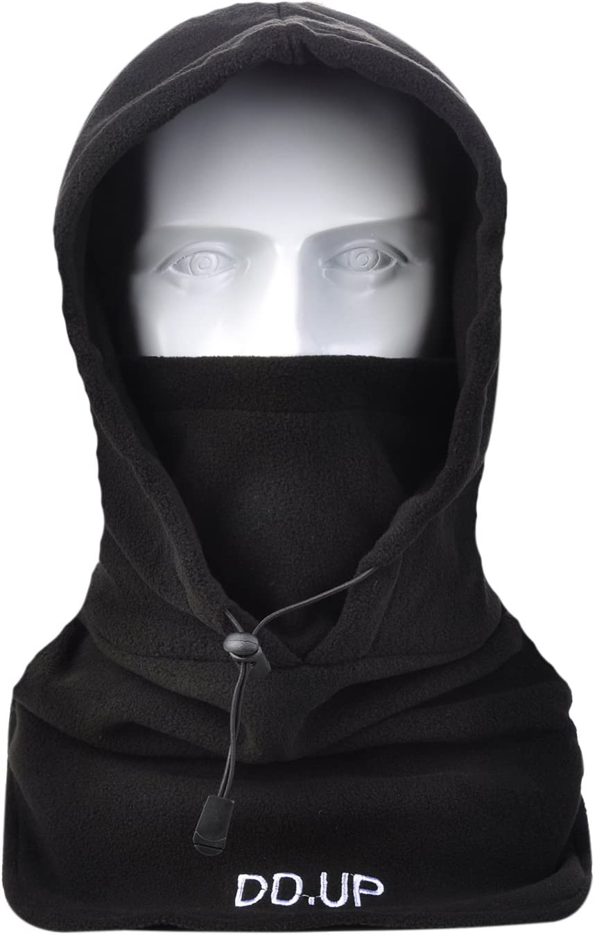 DD.UP MZ Balaclava Windproof Ski Mask Thermal Hood Heavyweight Winter Warm Motocycle Face Cover Hat For Mens Unise