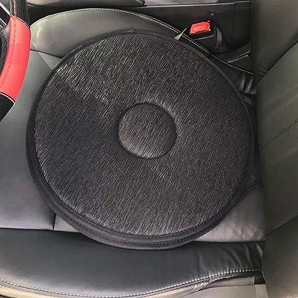 HXLF Cojín del Asiento portátil 360 Grados de rotación del ...