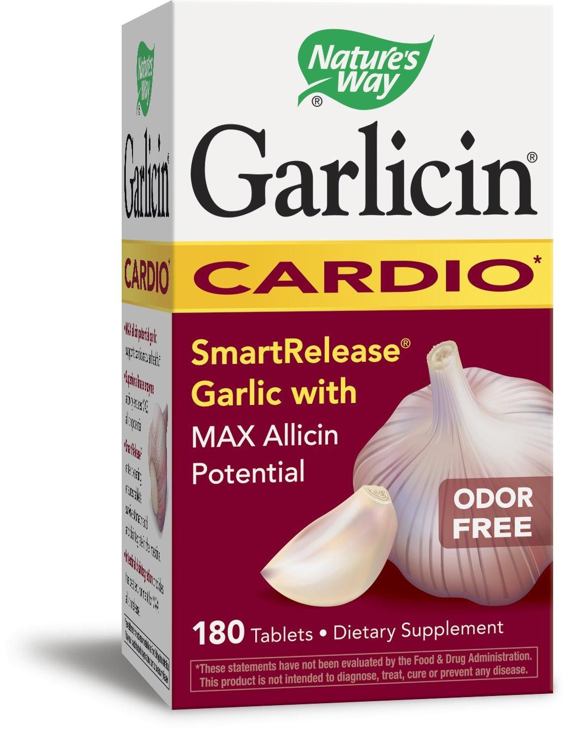 Nature's Way Garlicin, 180 Tablets