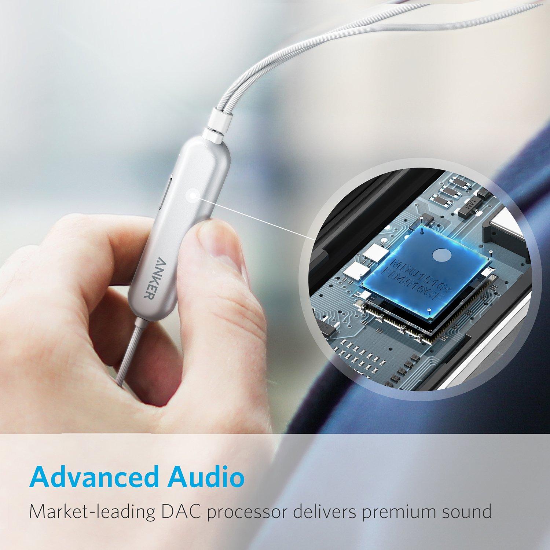Lightning端子の防水イヤホン「Anker SoundBuds Digital IE10」