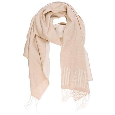 taglia 40 nuova alta qualità prezzo all'ingrosso Emporio Armani sciarpa lana uomo oyster grey: Amazon.it: Abbigliamento