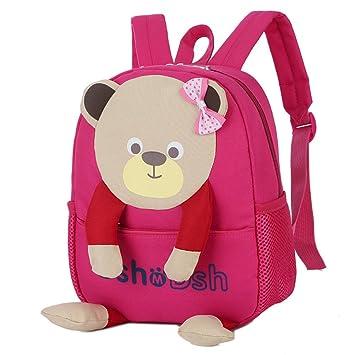 Mochilas para niñas Cool Mochilas para la escuela Venta barata Bebé Niños Niñas Bolso Oso Patrón