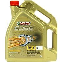 Castrol 1845033 57420 Edge Titanium Aceite para Motor FST 5W-30 LL, 5L, marrón