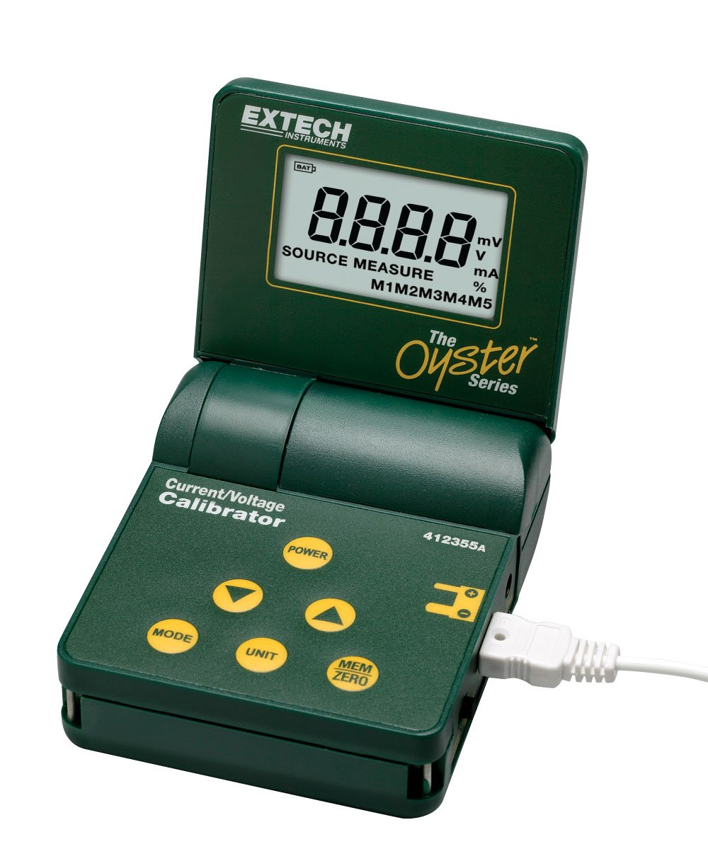 Extech 412355A Current and Voltage Calibrator Meter