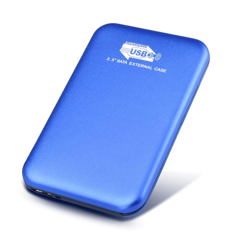Neeta Disco Duro Externo 1tb USB 3.0 Disco Duro Externo para PC Xbox One Mac Laptop Xbox 360 1tb, Azul Desktop MacBook Chromebook