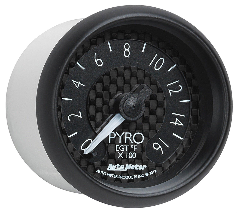 Auto Meter 8044 GT Series Electric Pyrometer/EGT Gauge by Auto Meter (Image #5)