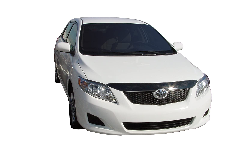Auto Ventshade 320010 Aeroskin Flush Mount Dark Smoke Hood Protector for 2009-2010 Toyota Corolla