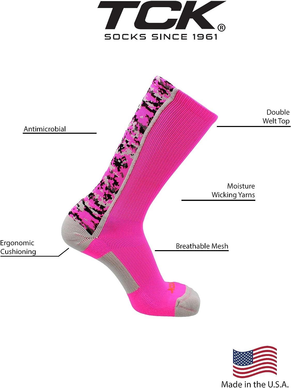 TCK Digital Camo Crew Socks