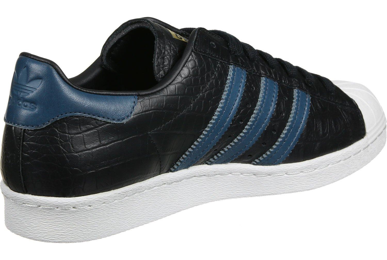 adidas Superstar 80s Calzado 40 EU|Black Blue