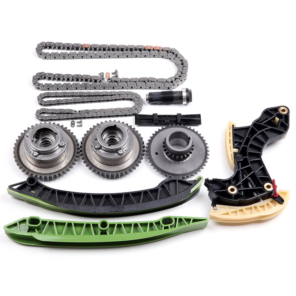 Scitoo Engine Timing Part Chains Set Chain Kits Fit Mercedes Benz Slk250 C250 18l