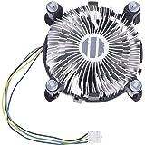 SODIAL(R)ヒートシンクCPU 冷却ファン クーラー インテルペンティアムに適用 4 D
