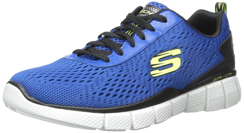 Skechers Equalizer 51529, Zapatillas Deportivos, Hombre 44 EU|Azul (Blbk)