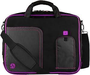 Laptop and Tablet Shoulder Bag Sleeve Carrying Case Handbag for Work School fits Lenovo Flex 11 Chromebook C330 Thinkpad Yoga 11e Flex 6 11 300e