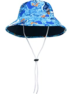 15a5c524 SunBusters Boys Reversible Bucket Hat, UPF 50+ Sun Protection Sun Hat