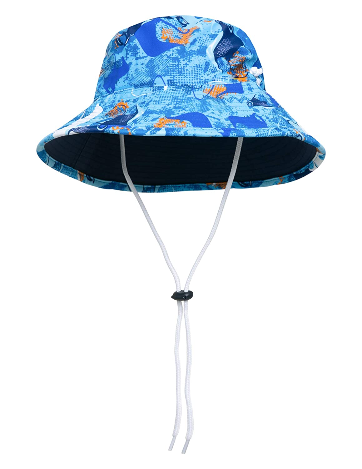 3530d699 Amazon.com: SunBusters Boys Reversible Bucket Hat, UPF 50+ Sun Protection Sun  Hat: Clothing
