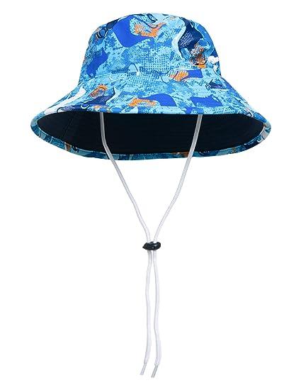 712236f85c1 Amazon.com  SunBusters Boys Reversible Bucket Hat