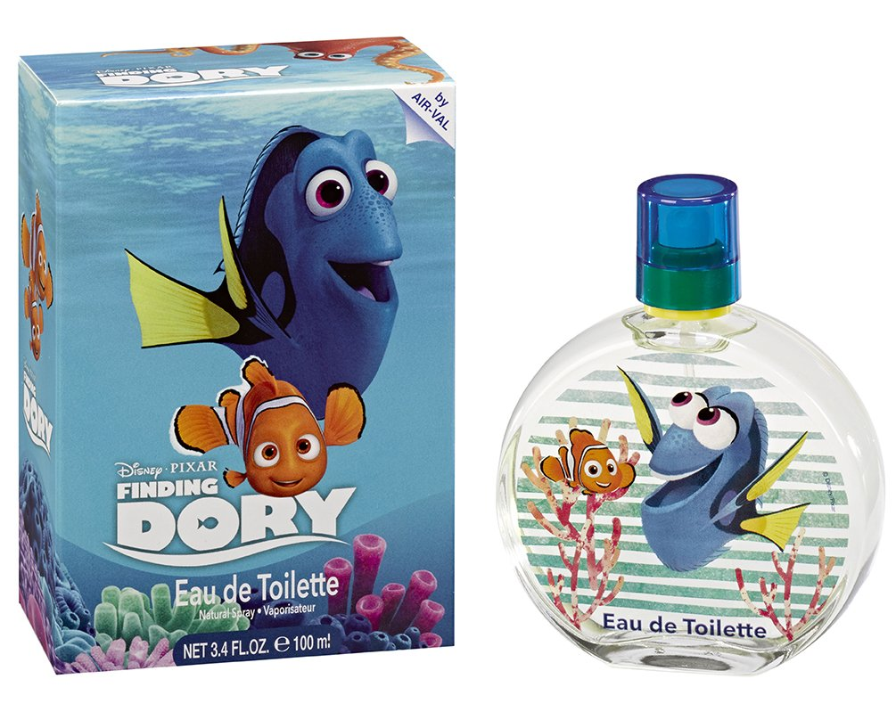 Disney Finding Dory for Kids Eau De Toilette Spray, 3.4 Oz 663350072426