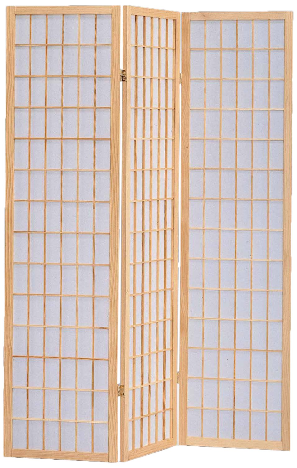 Milton Greens Stars 7034NA 3-Panel Sam Room Divider, Natural by Milton Greens Stars