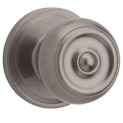 Weiser Phoenix Collection Passage Door Knob, Antique Nickel