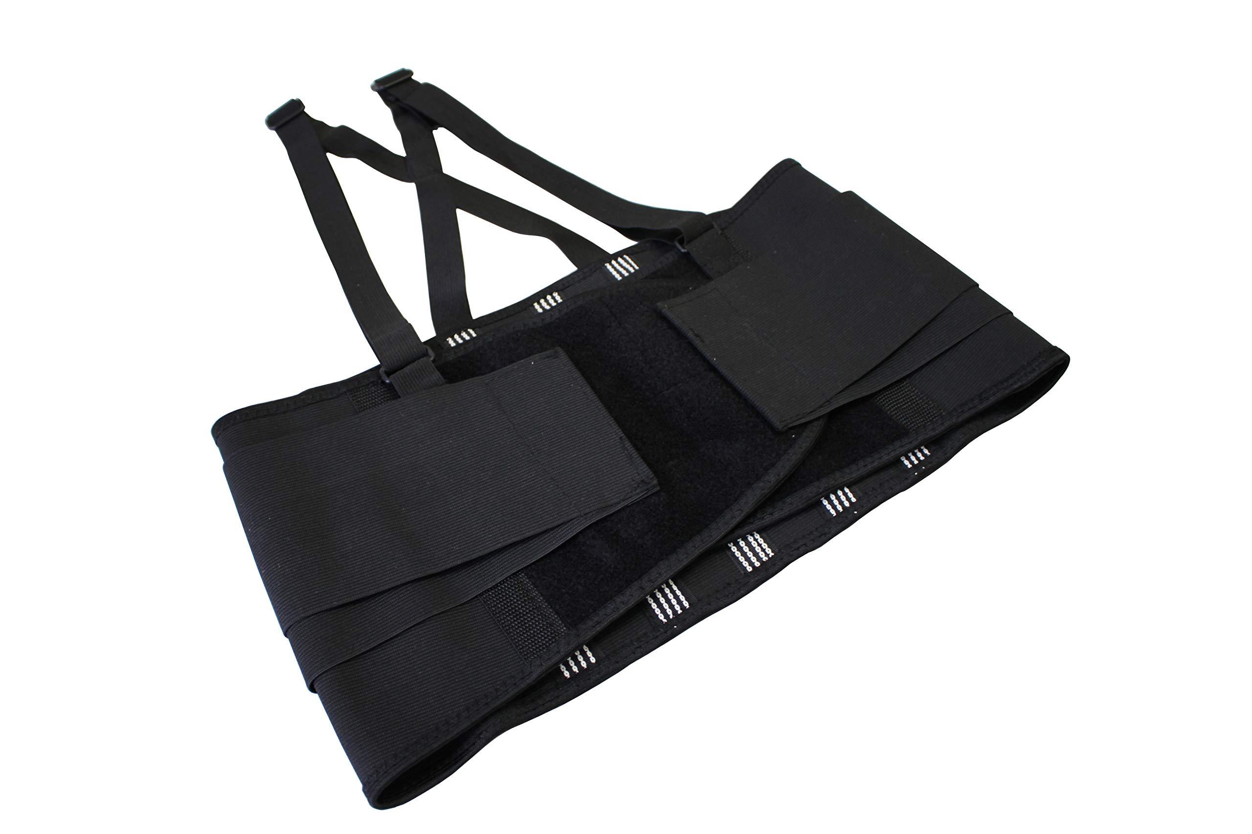 Ader Heavy Duty Adjustable High-Performance Back Support Work Belt, Lifting Belt (L)