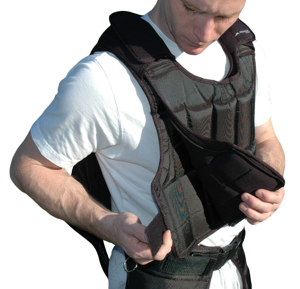 UNDER-VEST Short 25lb. Kit Weighted Upgrade for the Short Uni-Vest by Ironwear