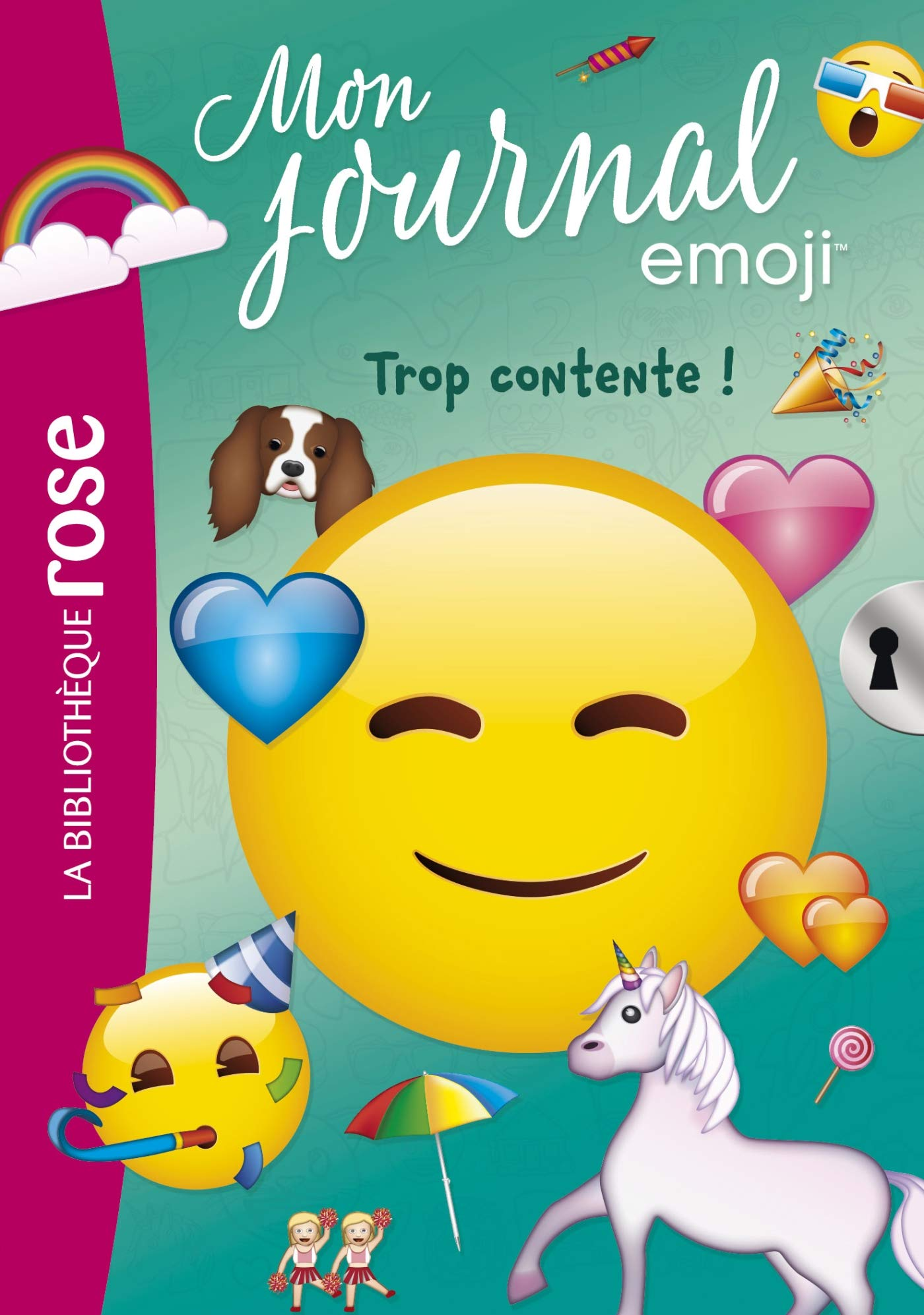 Amazon Fr Emoji Tm Mon Journal 03 Trop Contente