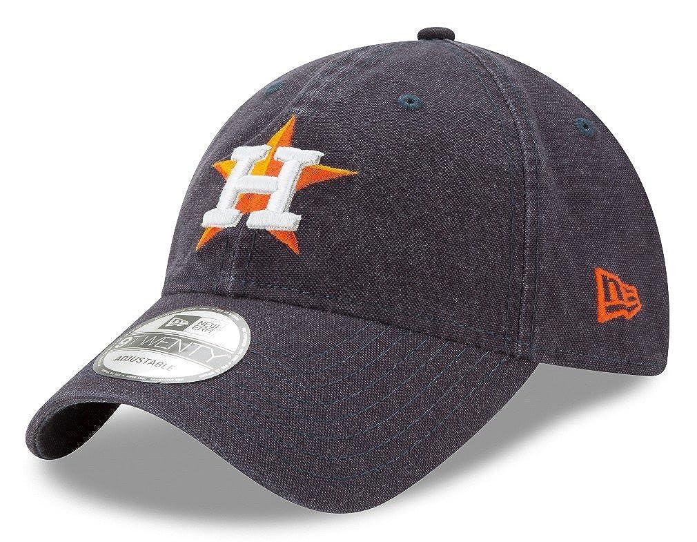 promo code c6c1a 51459 Amazon.com   New Era Houston Astros MLB 9Twenty Primary Core Classic  Adjustable Hat   Sports   Outdoors
