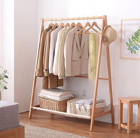 Lwjjymj Garderobe Einfache Kleiderbugel Schlafzimmer Boden