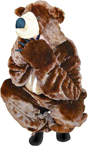 Ikumaal F67 M-L Trajes de Oso Pardo Oso Adulto del Traje del Traje ...