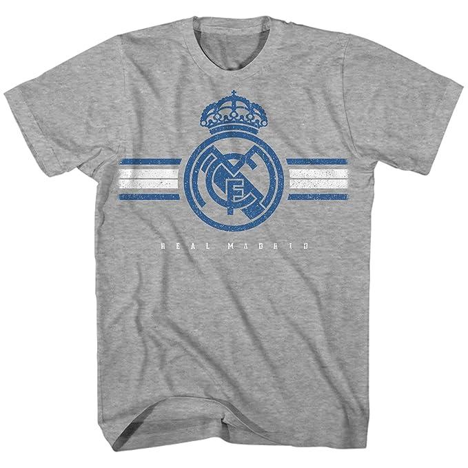 Amazon.com: Camiseta de fútbol Real Madrid con el logotipo ...
