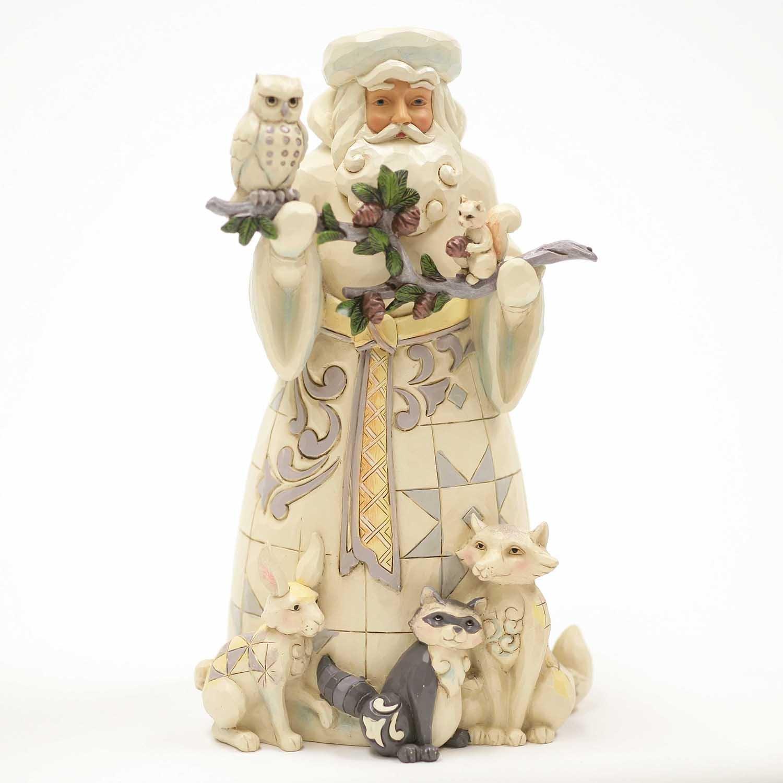 Heartwood Creek By Jim Shore Woodland Santa Claus Figurine