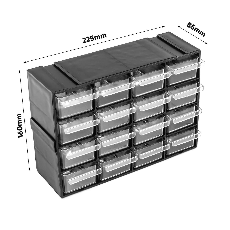 Juego de 42 m el TAMA/ÑO EN-Box de almacenaje y de pared wooddoor
