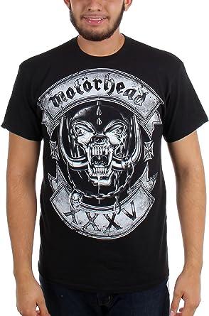 Motorhead - Hombres Rockeros Logo T-shirt en Negro, XX-Large, Black: Amazon.es: Ropa y accesorios