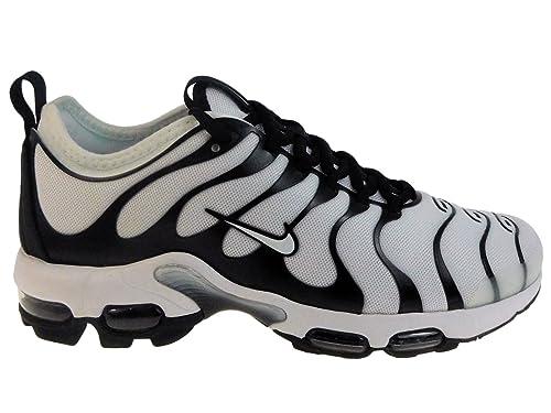 0cda363dd7577 Nike Men s Air Max Plus TN Ultra White White Black Bright Cactus Nylon