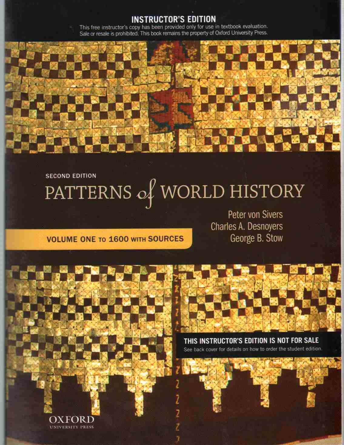 Patterns Of World History Cool Inspiration