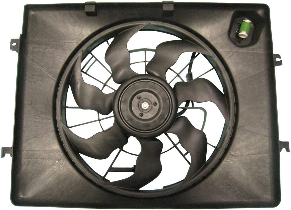 TYC 622630 Replacement Cooling Fan Assembly for Kia Optima