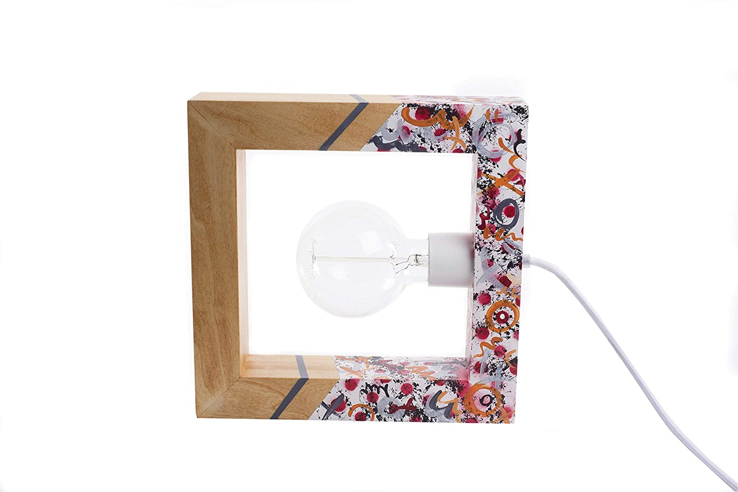 Amazon.com: Artistic, Graffiti, handmade Table lamp Clorindo Graffiti frame: Handmade