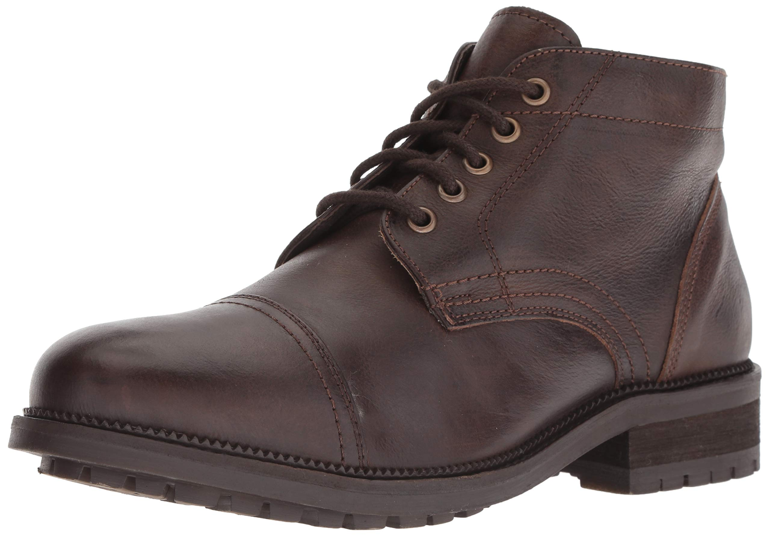 Dr. Scholl's Shoes Men's Airborne Oxford Boot, Brown Leather, 8.5 M US by Dr. Scholl's Shoes