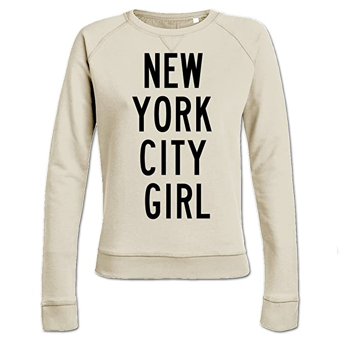 Sudadera de mujer New York City Girl by Shirtcity: Amazon.es: Ropa y accesorios