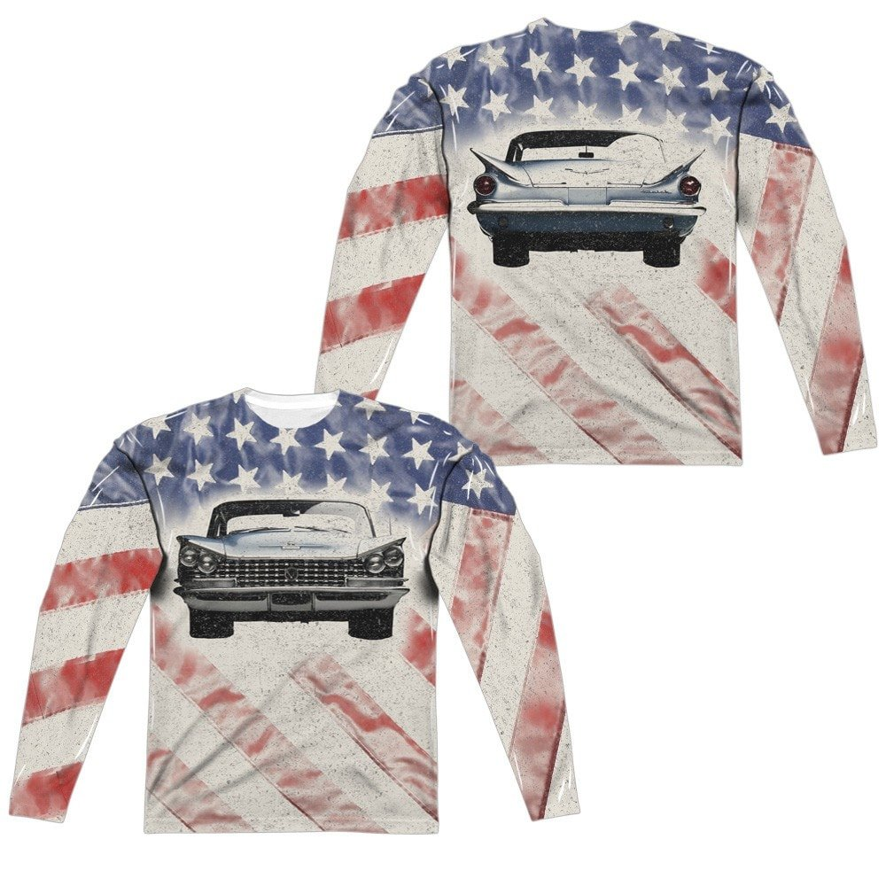 1959 Electra Flag Adult Long Sleeve T-Shirt Buick