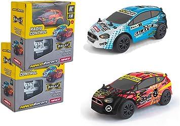 Outletdelocio. Pack 2 Coches de radiocontrol X Rally. Traccion 2WD ...