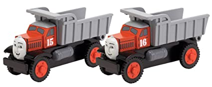 Learning Curve Thomas And Friends Wooden Railway Max And Monty The Dump Trucks