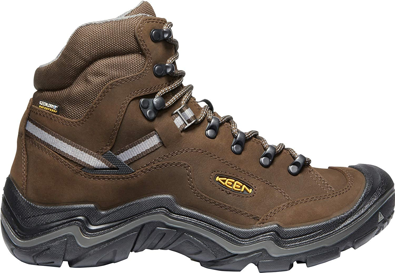 Waterproof Hiking Boots KEEN Mens Durand II Mid WP Wide