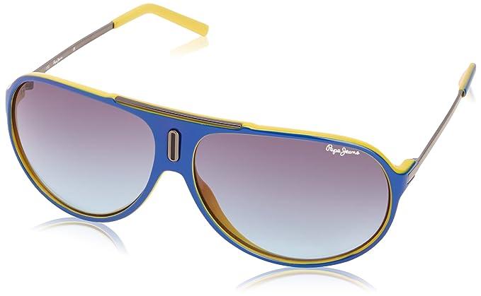 Pepe Jeans - Gafas de sol Aviador Louis para hombre, Blue ...