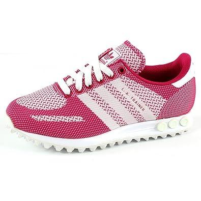 Adidas La formateur Weave W, rose / blanc, 5,5-nous