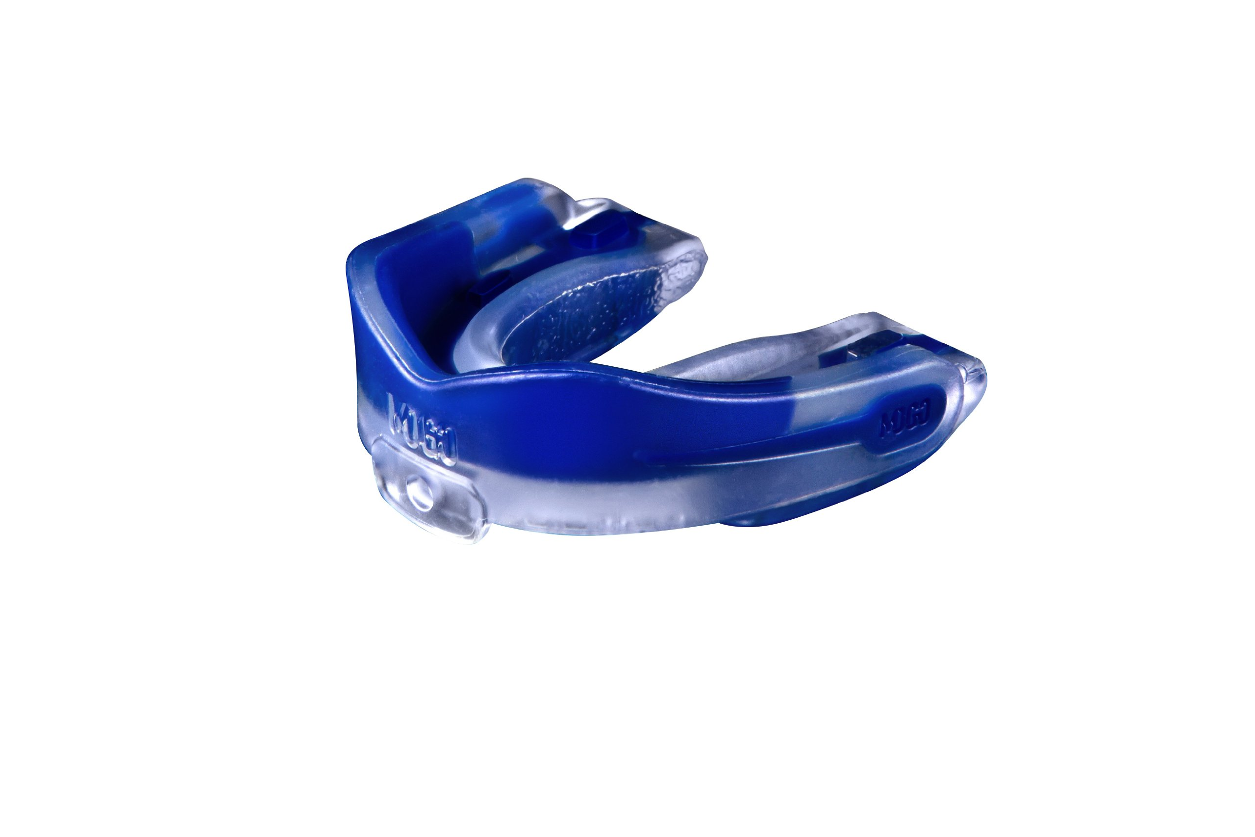 MoGo Sport Youth Blue Raspberry Flavored Mouthguard, Clear