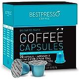 Bestpresso Coffee for Nespresso Original Machine 120 pods Certified Genuine Espresso Decaffeinato Blend(Medium Intensity…