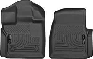 Husky Liners Fits 2015-19 Ford F-150 Standard Cab Weatherbeater Front Floor Mats