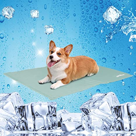 Amazon Com Unho Cooling Mat Pet Cooling Bed Pad For Dogs